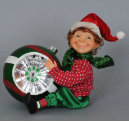 CC12-16  Elf with Ornament