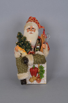CC16-100 Lighted Tuscan Cuisine Santa