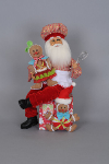 CC16-101  Gingerbread Magic Santa