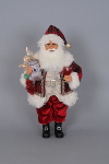 CC16-104 Lighted Wine Arcadian Santa