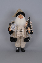 CC16-114 Lighted Eiffel Elegance Santa