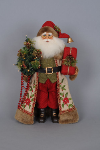 CC16-118 Lighted Woodland Embroidery Santa