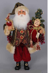 CC16-120 Lighted Wine Santa