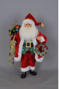 CC16-145 Beads with Wreath Santa
