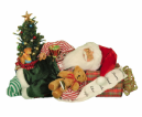 CC16-168 Lighted Napping Santa