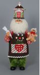 CC18-12 Gingerbread House Santa