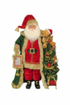 CC20-57  Lighted Christmas Morning Santa