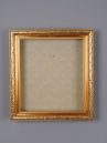 "FR-01 Gold Shadowbox Frame (for 18""-20"" Santa Head)"