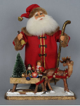 SC-05LE Vintage Santa with Sled