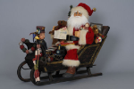 SC-08 Lighted Vintage Sleigh Santa