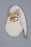 SH30-03 White Christmas Santa Head