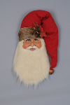 SH30-04 Woodland Santa Head Wall/Door Hanger