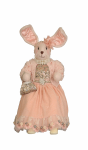 SP003 Pink Sitting Bunny Rabbit