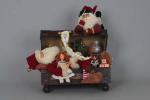 VC-09 Lighted Trunk Santa