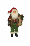 CC12-36  Woodland Stocking Santa
