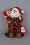 CC15-03 Midnight Snack Rocking Chair Santa