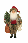 CC16-178  Lighted Woodland Friends Santa