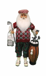 CC16-155 Golf Santa with Basket
