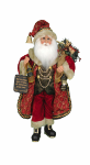 CC16-188  Lighted Wine and Gifts Santa