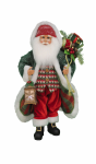 CC16-202 Lighted Snowy Stroll Santa