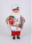 CC16-211 Gingerbread Fun Santa