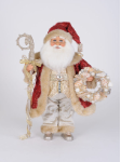 CC16-219 Red Coat Seashell Santa