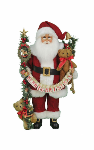 CC18-38  Lighted Musical Christmas Santa
