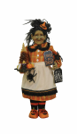 HA18-05  Lighted Trick or Treat Witch
