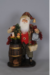SC-34 Wine Barrel Santa