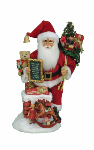 SC-47 Lighted Good Saint Nick Chimney