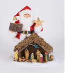 SC-53 Lighted Nativity Santa