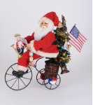 SC-55 Lighted Patriotic Trike Santa