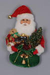 SH18-06 Lighted Wine Santa Head