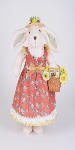 SP038 Flower Basket Bunny