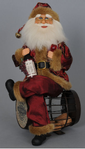 CC14-06 Cork Barrel Santa