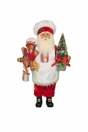 CC16-167 Gingerbread Magic Santa