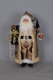 CC18-23 Mixed Metal Santa