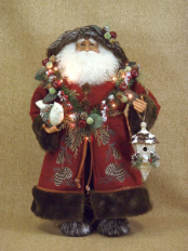 CC20-48 Lighted Woodland Santa