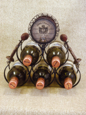 EDBH-01 5 Bottle Wine Holder Rack