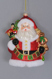 ORN-09 Set of 4 Believe Ornaments