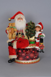 SC-20  Lighted Traditional Christmas Glow Santa