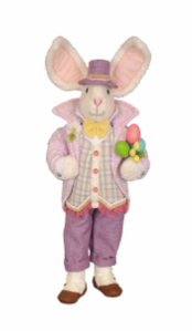 SP010 Mr. Purple Bunny Rabbit