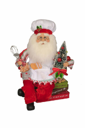 CC12-39 Baking Traditions Santa