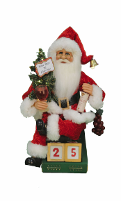 CC14-10 Lighted Wine Days Santa