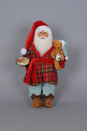 CC16-110  Milk & Cookies Santa