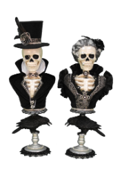 HA26-05 Winston and  Victoria Skeleton Pedestals