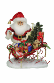 SC-48 Lighted Christmas Delivery Sleigh