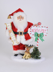 SC-51 Lighted North Pole Santa