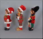 CC09-04  3 Piece Traditional Elf Assortment