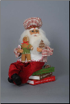 CC12-11 Gingerbread Santa on Cook Books